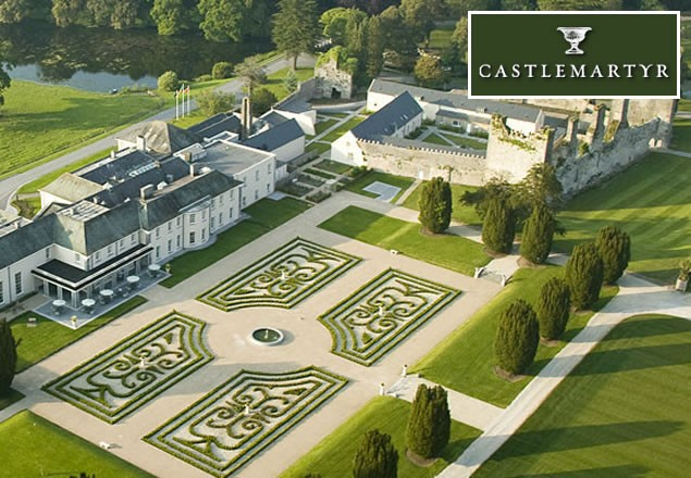 Wonderful photography of the Castlemartyr Resort creates brand expectation...