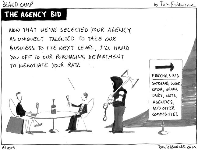 For more marketing cartoons check out Marketoonist http://tomfishburne.com/