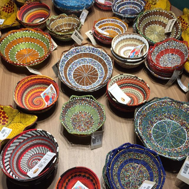 Out of Africa - beautiful #african #beadwork always colourful, vibrant & energising #Rosebank #artsandcrafts Market #johannesburg