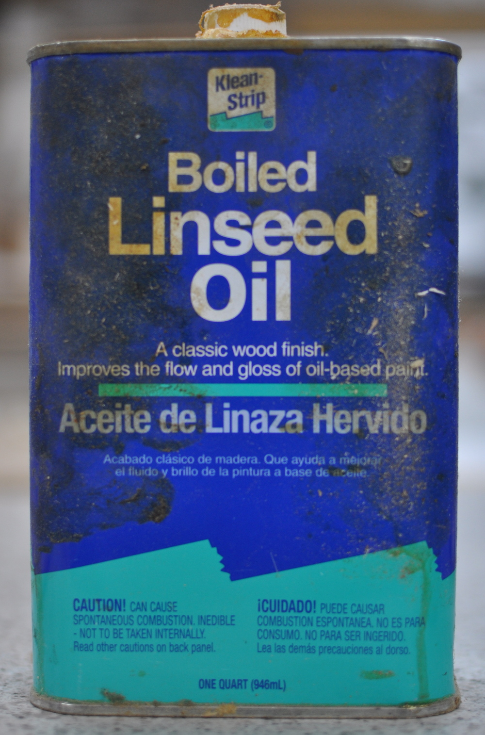 Boiled Linseed Oil is among my favorite finishes
