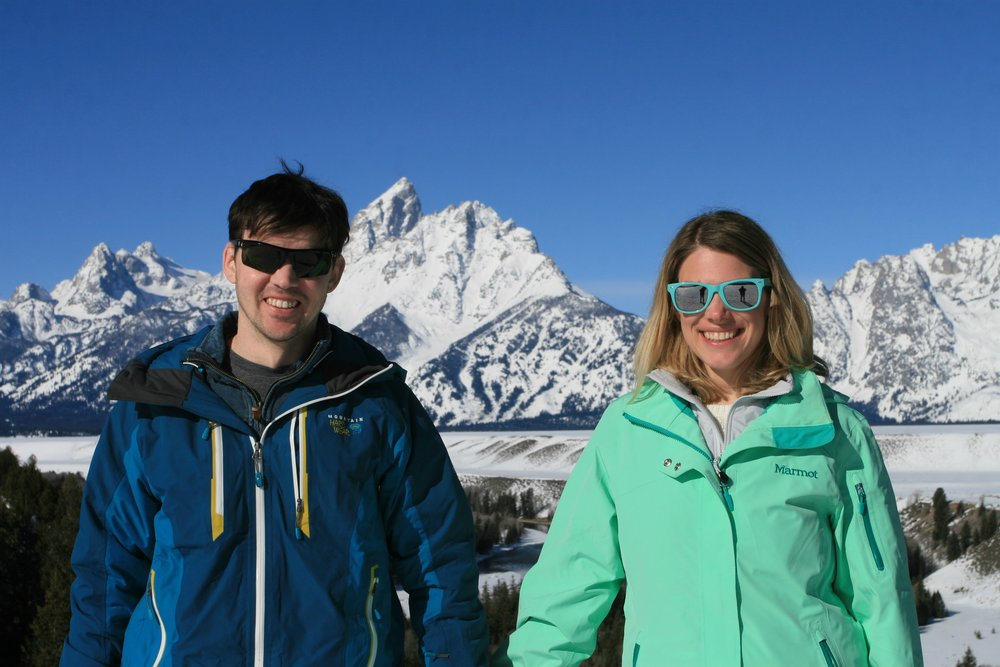 Kristin and me in Grand Teton National Park