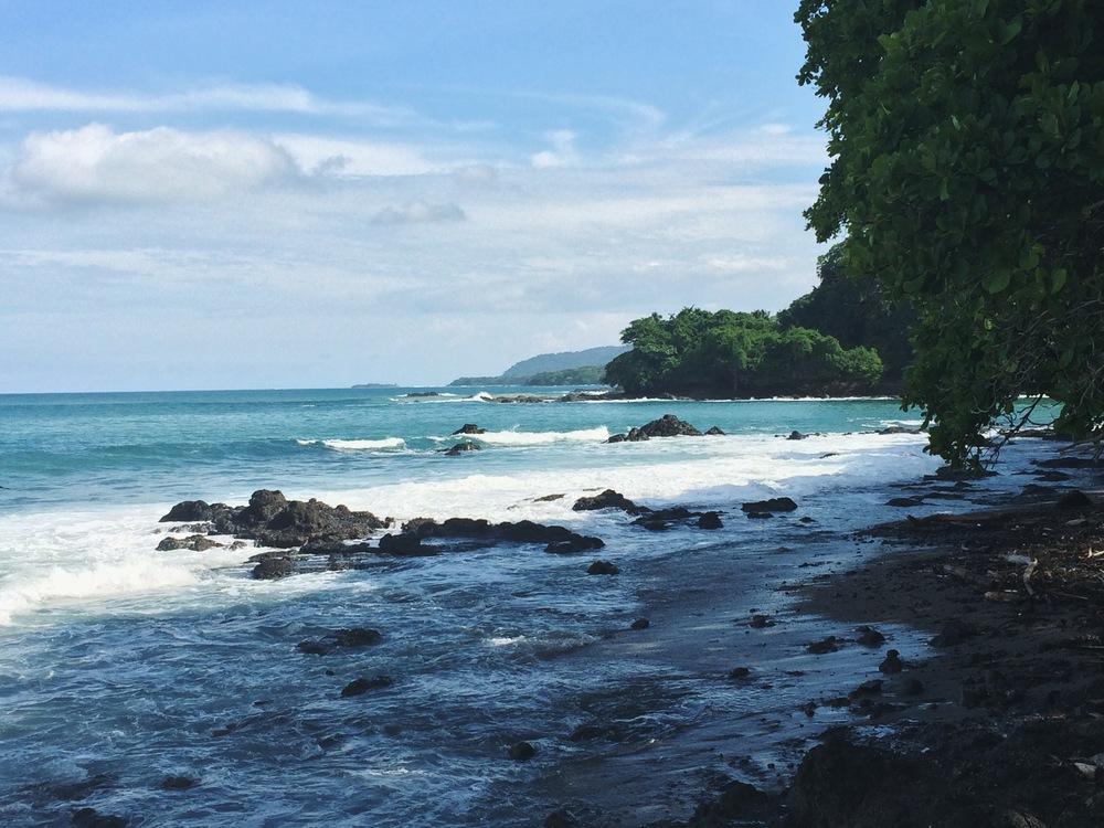 Beach in Montezuma