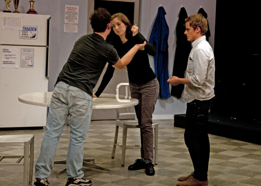 Eric directing  reasons to be pretty   by Neil LaBute as a Guest Artist at UC San Diego, 2010