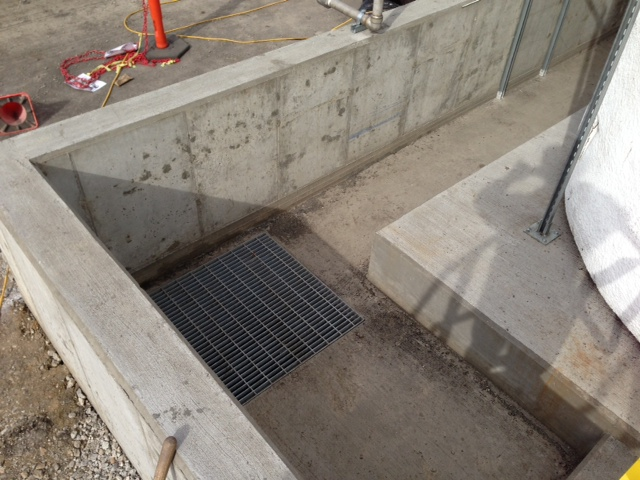 CONCRETE FOUNDATION CONTAINMENT