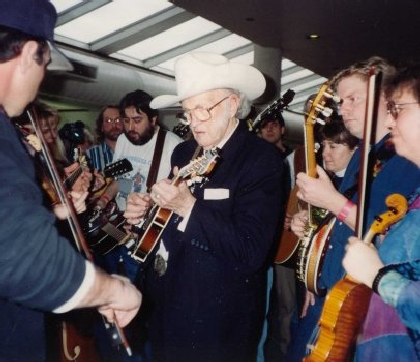 1995 - Jamming with Bill Monroe
