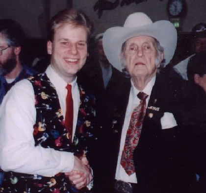 1995 - Byron Myhre & Bill Monroe