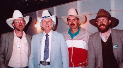 1995 - Dave Wright, Bill Monroe, Terry Knutson & Marty O'Burn