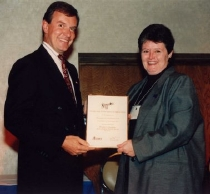1998 - MLA Doug Main & Jane Tames