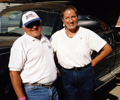 2003 - Volunteers Allen & Lindy Parr