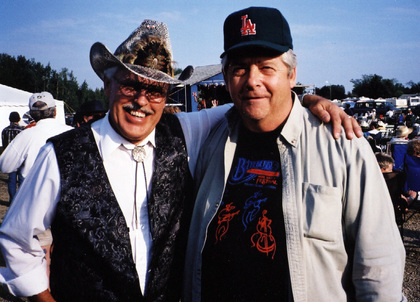 2003 - George McKnight & Blueberry President Norm Sliter