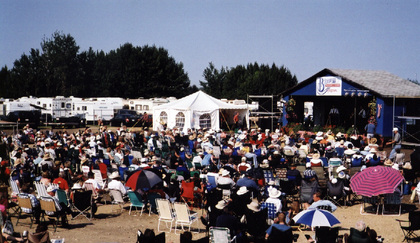 2003 - Blueberry Concert Area