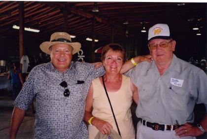 2003 - Frank & Gloria Chvojka & Russ Kushniruk