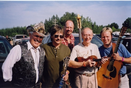 2003 - George McKnight, Bill Lopushinsky, Keith Burgess, Alfie & Byron Myhre