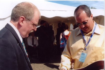 2005 - Brad Oviat of Maple Creek & Russell Moore of IIIrd Tyme Out