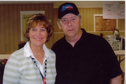 2005 - Mrs. Doyle Lawson & Blueberry President Norm Sliter