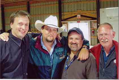 2006 - Darcy Whiteside of Maple Creek, Aaron Murray & Phil Shaver of Fours Chords of Wood, & Ian VanDusen