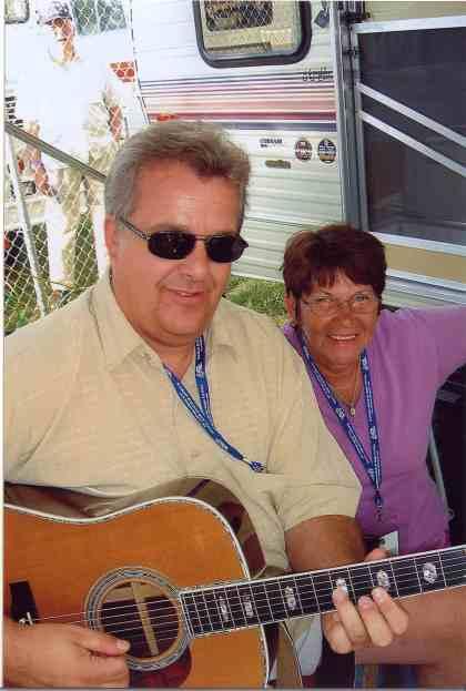 2006 - Eric Uglum of Lost Highway & Marge Sliter