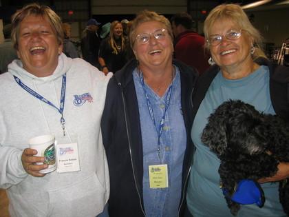 2006 - Blueberry volunteers Francie, Rose & Janette