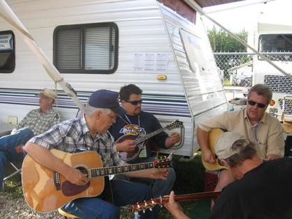 2006 - George McKnight jamming with Joe Ash, Eric Uglum & Ken Orrick of Lost Highway