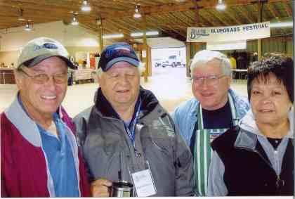 2006 - Ken Orrick, Les Eberhardt, Allan Parr & Ruby Nelson