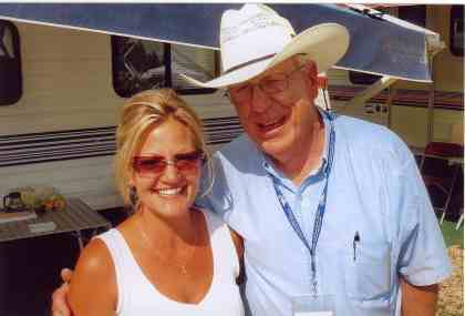 2006 - Michelle with Dave Johnston