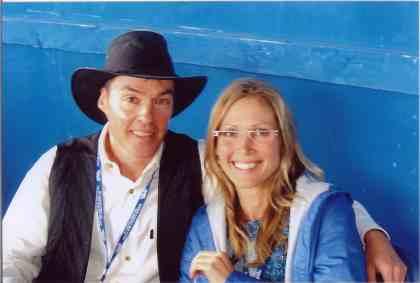 2006 - Riverdale Bluegrass Band's Terry Nadasdi & Pamela Johnson