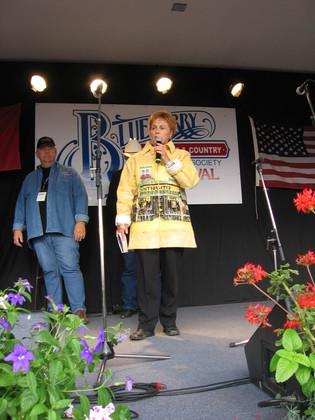2006 - Stony Plain Mayor Donna Cowan