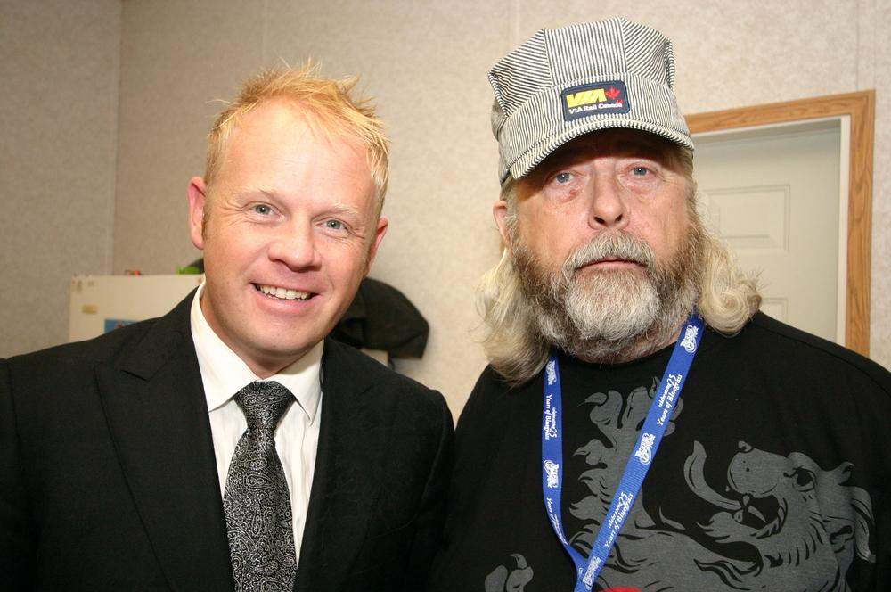 2010 - Jamie Daily & Blueberry President Norm Sliter