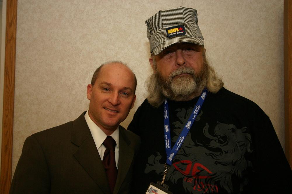 2010 - Darrin Vincent & Blueberry President Norm Sliter