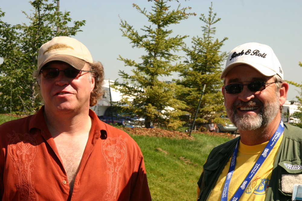 2010 - Peter North & Blueberry Entertainment Director Pat Guidera
