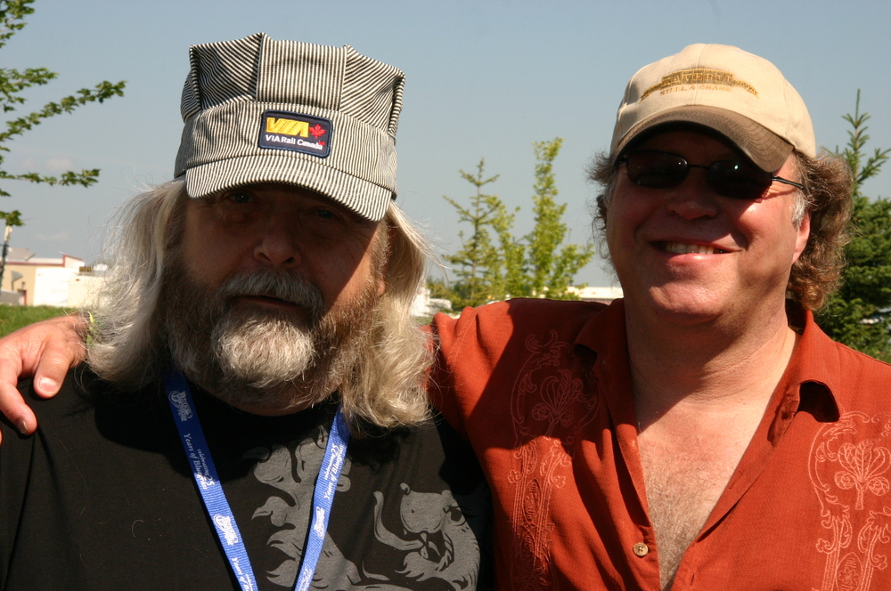 2010 - Blueberry President Norm Sliter & Peter North