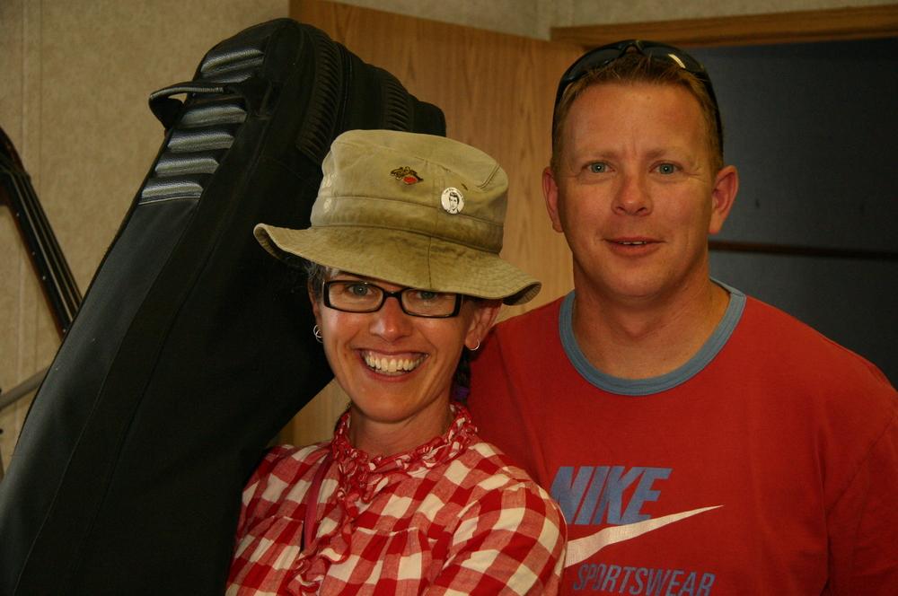 2010 - Paula Spurr of the Bluegrass Orphans & Rick Spinney