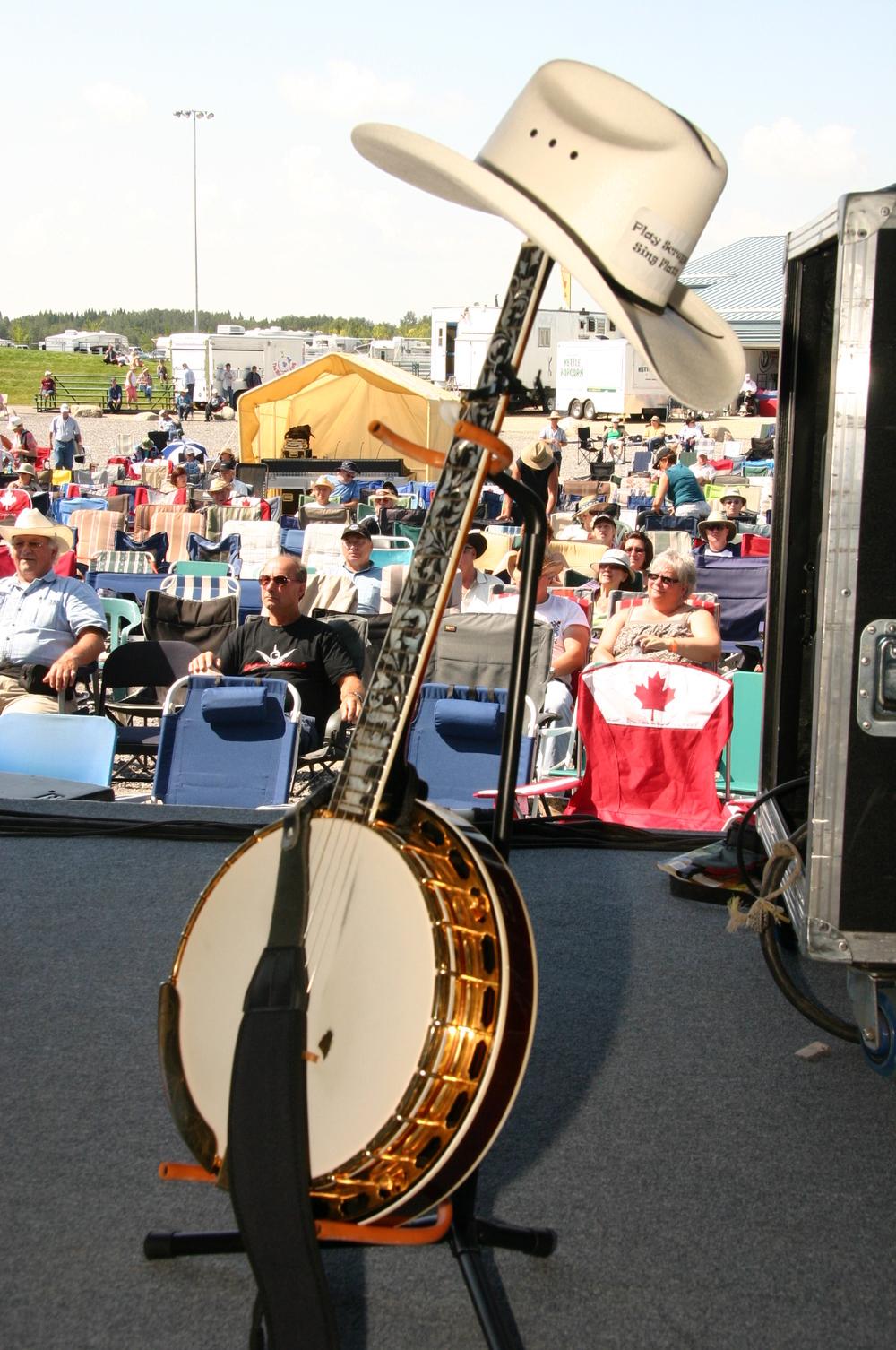 2010 - Woodbend - Ron Mercer's Banjo