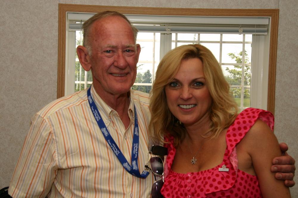 2010 - Ian VanDusen with Rhonda Vincent