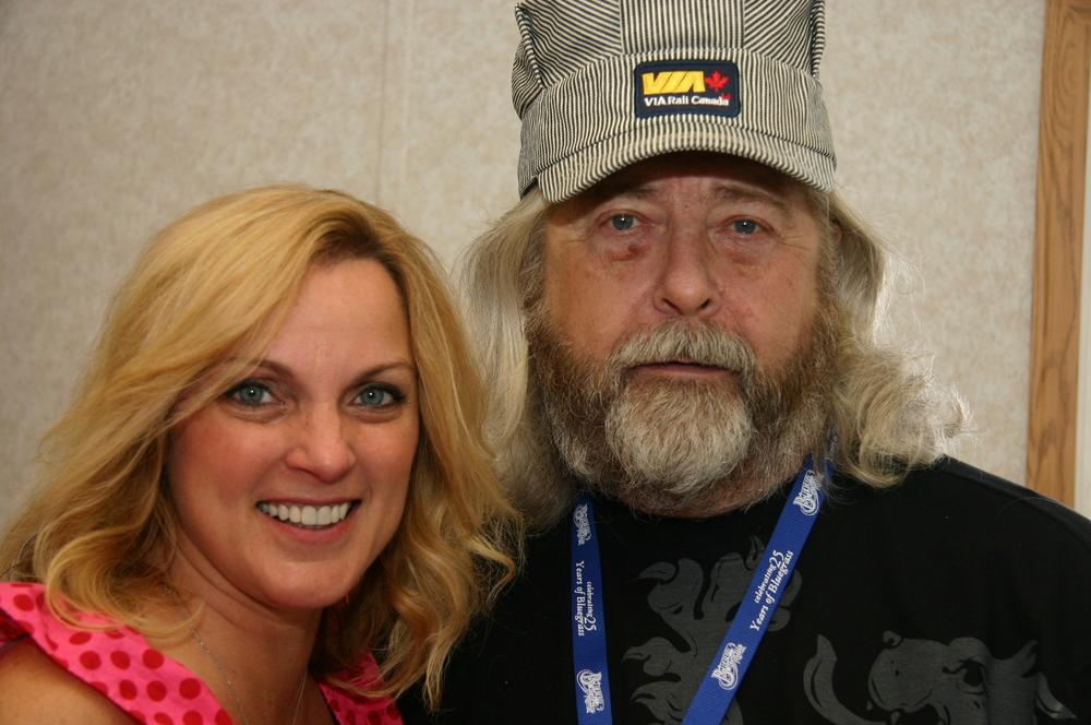 2010 - Rhonda Vincent & Blueberry President Norm Sliter