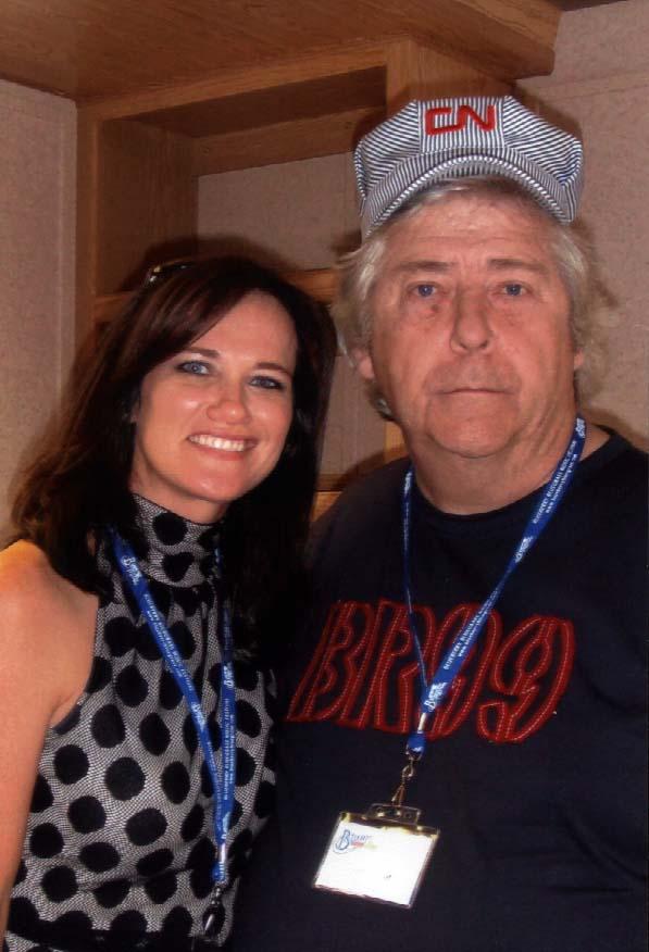 2009 - Alecia Nugent & Blueberry President Norm Sliter