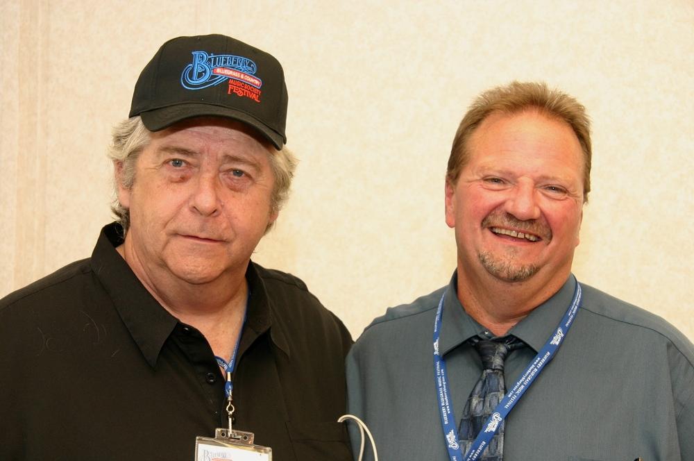 2009 - Blueberry President Norm Sliter & Danny Paisley