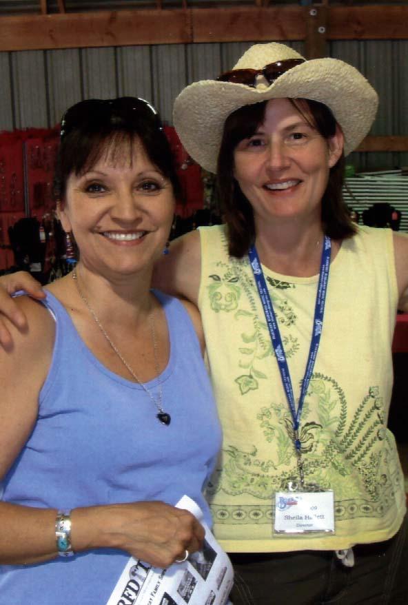 2009 - Jeannette Sinclair & Blueberry Treasurer Sheila Hallett