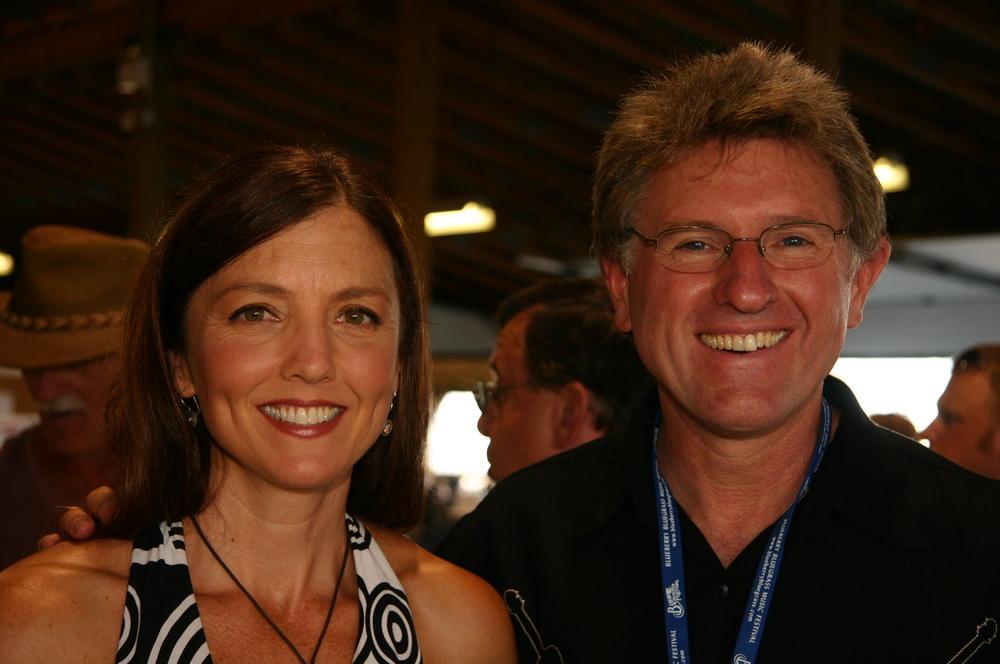 2009 - Trisha Gagnon & Jim Nunally - John Reischman & The Jaybirds