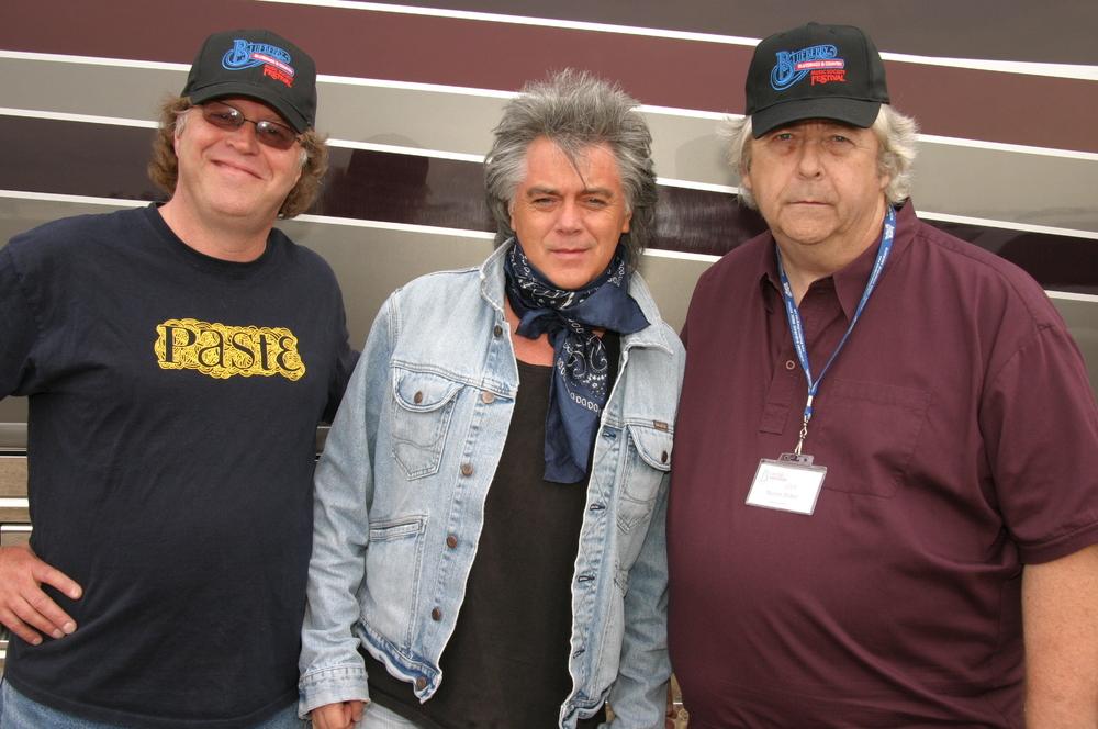 2009 - Peter North, Marty Stuart & Blueberry President Norm Sliter