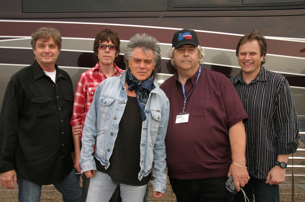 2009 - Marty Stuart & his boys with Blueberry President Norm Sliter