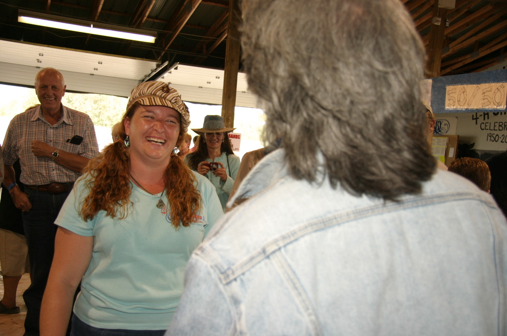 2009 - Marty Stuart with Michelle