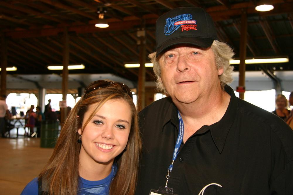 2009 - Sierra Hull & Blueberry President Norm Sliter