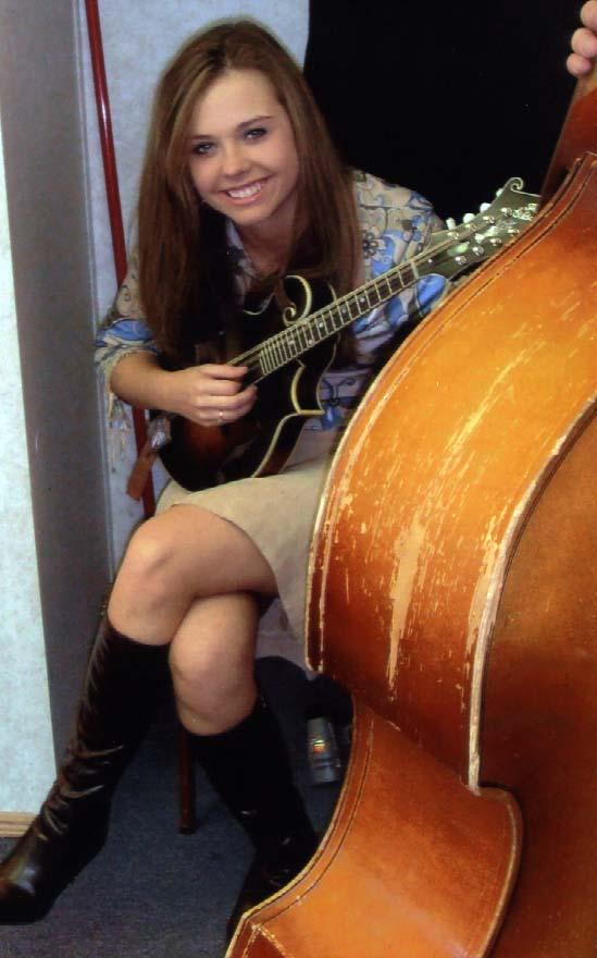 2009 - Sierra Hull backstage