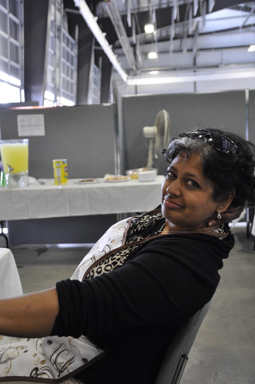 2012 - Shirley - Hospitality Volunteer