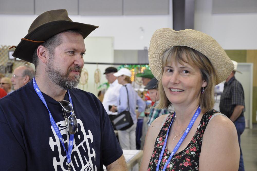 2012 - Blueberry Volunteer Driver Alex Boudreau & Sheila Hallett, Blueberry Treasurer