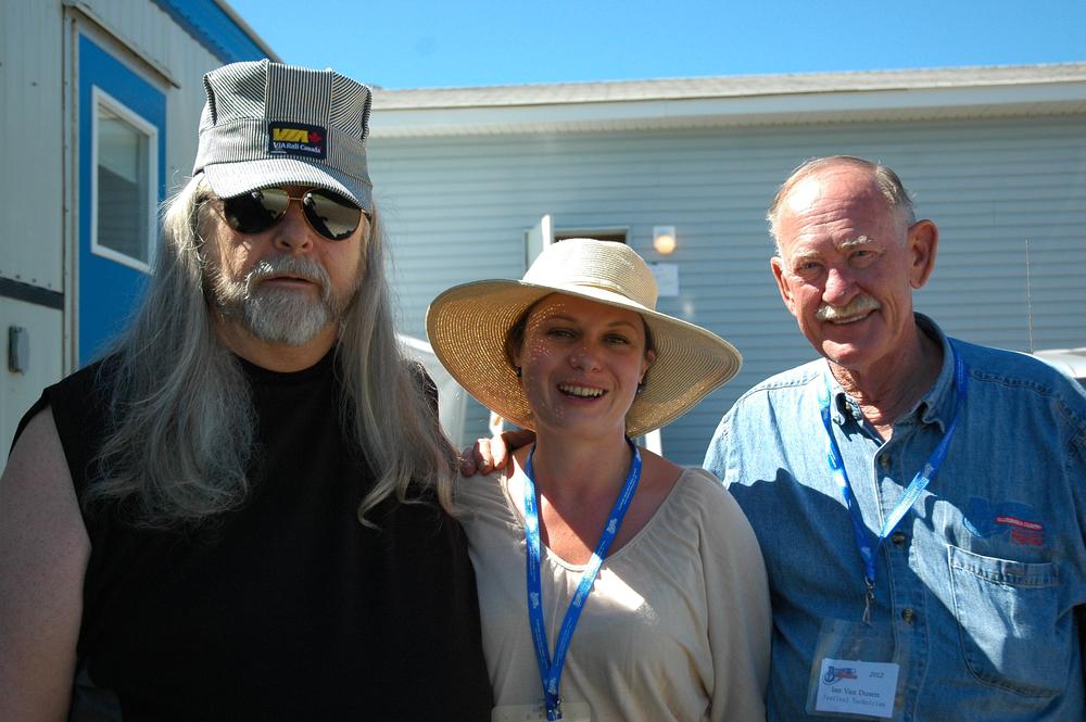 2012 - Norm Sliter & Ian VanDusen with Megan