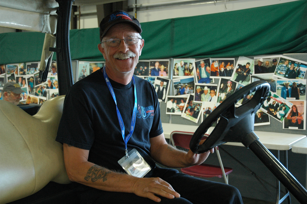 2012 -  Dennis - Blueberry Volunteer