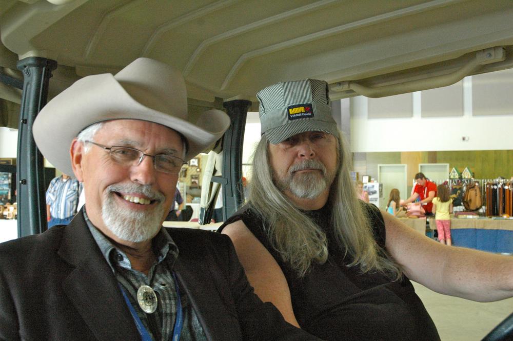 2012 - Emcee George McKnight & Blueberry President Norm Sliter