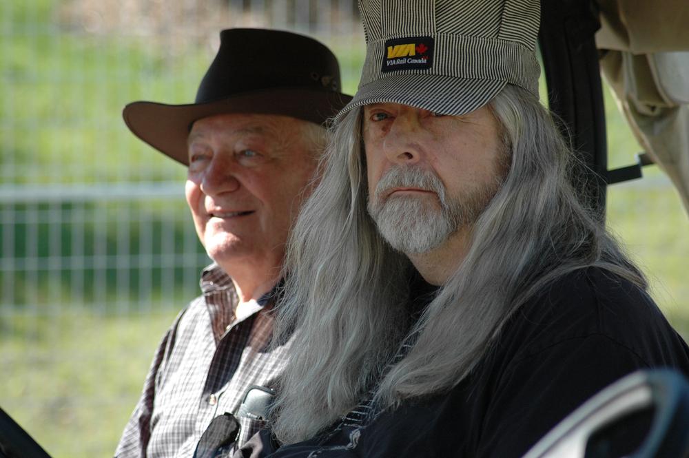 2012 - Concessions Director Bill Brasko & Blueberry President Norm Sliter
